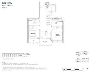 2 Bedroom 2Pa