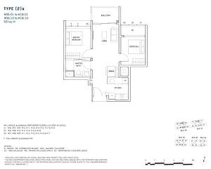 2 Bedroom 2a