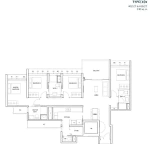 4 Bedroom 4b